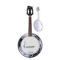 Marquês Bl 02 Banjo Elétrico De Fibra Branco - Frete Grátis