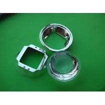 Lente Condensadora 45mm P/led, Projetor Diy,+ Refletor 100w