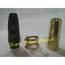 Boquilha Kit Sax Soprano Vandoren V5 Jazz S27 Frete Gratis