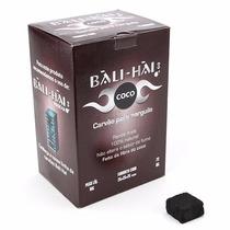 Carvão Para Narguile Bali Hai Coco Cubo Cx 72 - 1kg