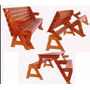 Projeto Kit Cadeira Vira Escada+mesa Vira #2v5j