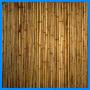 Painel De Bambu 1m X 1m. Muro E Forro