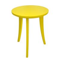 Mesa Redonda Colors Amarela