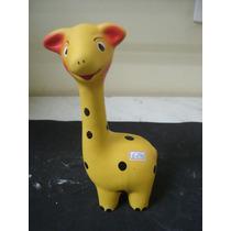#6296# Enfeite De Jardim Cerâmica Girafa!!!
