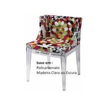 Cadeira Mademoiselle Policarbonato Transparente