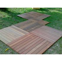 Deck Modular De Madeira 50x50cm