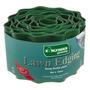 Lawn Edging - 12cmx 6cm Verde Pequeno Strong Flexível