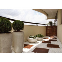 Seixos Branco - Para Jardim E Exteriores - Saco 15 Kg Rj