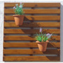 Painel De Madeira Para Jardim Vertical - 1mx1m
