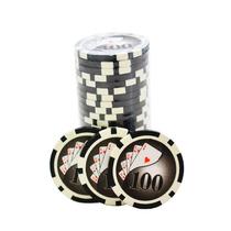 Fichas Holográficas De Poker Numerada 100 Kit Com 25 Fichas
