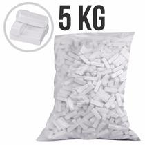 Giz Para Taco De Bilhar Sinuca Branco Saco Com 5 Kg 10778