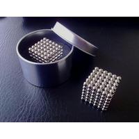 Cubo Magnetico Neocube Imã 5mm +box Aluminio Pronta Entrega