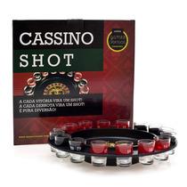 Jogo De Roleta Drinking Drink Sho C/ 16 Copos Shot. Roulette