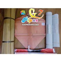 Kit Fabrica De Pipas - Mucha 60 Cm C/ Gabarito,linha,seda