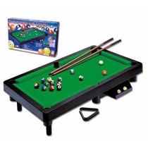 Jogo Mesa Bilhar - Snooker Luxo - Braskit Promoção