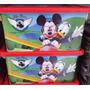 Caixa Organizadora Disney Mickeypara Guardar Brinquedos