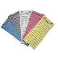 Cartela De Rifa 50 Nomes - 50 Unidades Barão Da Sorte 1021