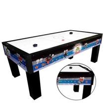 Mesa De Aero Hockey Animado Klopf - Frete Grátis