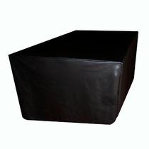 Capa Para Mesa De Bilhar / Sinuca Com Saia Luxo - Tamanho M