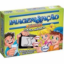 Jogo Diverso Imagem E Acao Jr. Lousa Magica Grow