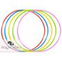 12 Peças - Bambolê Arco Infantil Reforçado 67 Cm Colorido