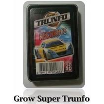Jogo De Cartas Super Trunfo Recordes - Completo - Grow