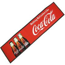 Tapete Borracha Runner Wetstop Balcao Bar Coca Cola Novo