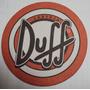 Bolacha De Chopp - Cerveja Duff - A5