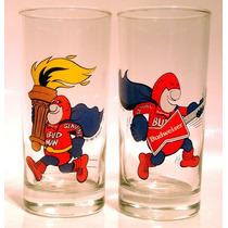 Copos Americanos Bud Man Budweiser Olimpíadas 1987