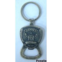 Chaveiro E Abridor Guinness Made In Uk Ouro Velho