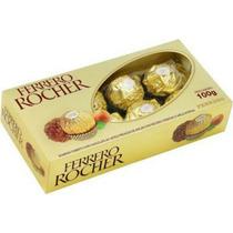 Bombons Ferrero Rocher 100g Com 8 Bombons