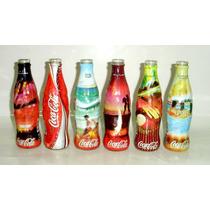 Coca-cola Coleção Garrafas Antigas Vidro