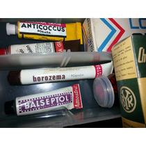 Farmacia Antiga Pharmacia Cx,frascos,latas Vazias Lt 221