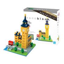 Nanoblock Big Ben 580 Peças Micro Puzzle, Não É Lego