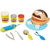 Conjunto Massinha Play-doh Brincando De Dentista Hasbro