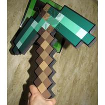 Picareta De Esmeralda Minecraft Foam
