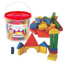 Blocos De Construção Em Madeira Nina Brinquedos Educativos