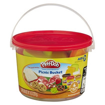 Play Doh Mini Balde Piquenique Massa De Modelar Hasbro