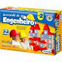 Brincando De Engenheiro- Jogos- Blocos De Montar- Xalingo