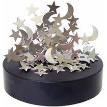 Escultura Magnetica Estrelas E Lua Estilo - Design Decoração