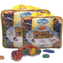 Brinquedos Pedagógicos   Blocos Legos Formando Ideias 500pcs