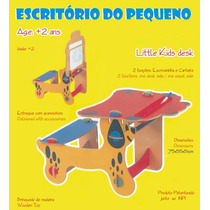 Mesinha Infantil - Brinquedo Em Madeira -carteira Escolar