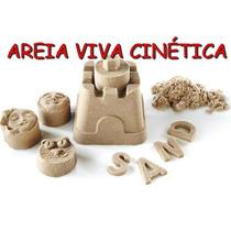 Kit Areia Cinética Modelar Brinquedo Novidade Prontaentrega