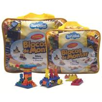 Blocos P/ Montar, Sacola C/ 500 Pcs   Brinquedos Pedagógicos
