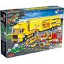 Blocos De Montar Banbao Corrida Caminhão Pcs Comp. C/ Lego