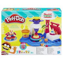 Massa Para Modelar Play Doh Festa De Bolos - Hasbro