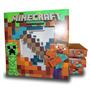 Kit Espada E Picareta Dianamte Minecraft - Na Caixa Lacrado!