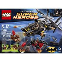 Lego Super Heroes Batman + Kit 8 Bonecos Marvel