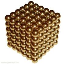 Neocube Gold Magnético 5mm + Lata! 216 Esferas Neodimio