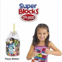 Super Blocks 174 Peças Riber Brink
